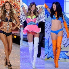 The Genetically Blessed Supermodels Of The Victoria's Secret Fashion Show
