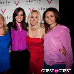 Vixely And ROARKE NYC Holiday Party