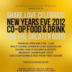 Today's Giveaway: Two Tickets To CO-OP Food And Drink's NYE Bash!