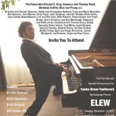 You're Invited: Sasha Bruce Youthwork's ELEW Concert TONIGHT