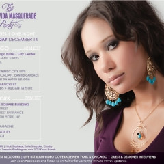 You're Invited: Hasana's 'Viva La Vida' Masquerade Party!