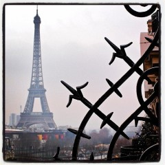Photo Of The Day: The Eiffel Tower From Avenue Montaigne