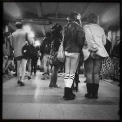 NYC And LA Drop Trou For The No Pants Subway Ride 2012