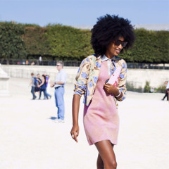 Daily Style Phile: No One Rocks A Fro' Like Julia Sarr-Jamois