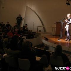Courtney Love Plays Scholar At Guggenheim's Cattelan Closing
