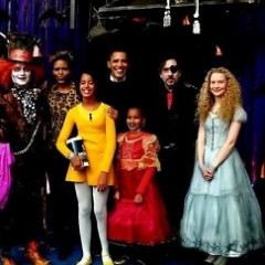 The Obamas Fall Down The Rabbit Hole At A Secret White House Alice In Wonderland Party