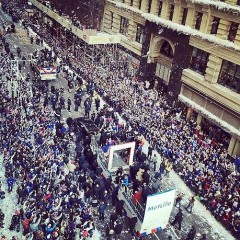 Photo Op: NYC's Ticker Tape Parade In Celebration Of The Giants' Super Bowl Win