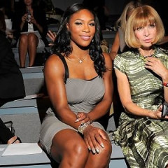 Anna Wintour And Her Front Row Athletes