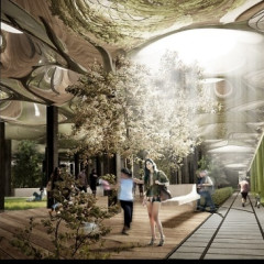 The Low Line: An Underground Park Under Delancey Street Envisioned