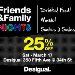 You're Invited: Desigual Friends & Family Nights