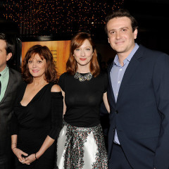 Last Night's Parties: Ed Helms, Jason Segel Attend A Premiere,