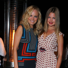 Last Night's Parties: Kristen Bell Sings For Charity, Malin Akerman Celebrates Lacoste's New Collection & More!