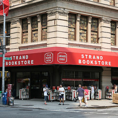 Strand Bookstore Is Being Painted Right This Second