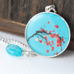 10 Etsy Cherry Blossom Jewelry Finds
