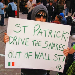 The Re-Occupation Of Wall Street