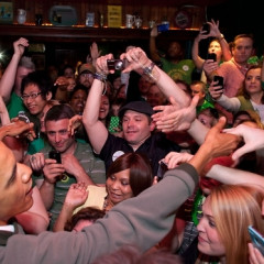Obama Grabs A St Patty's Pint At The Dubliner With His Irish Cousin