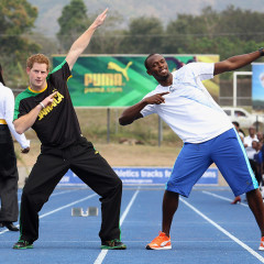 Prince Harry Races Usain Bolt In Jamaica On Diamond Jubilee Tour