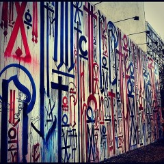 Photo Of The Day: Retna Mural On Bowery