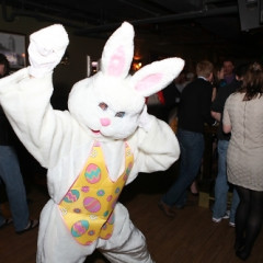 The Easter Bunny Parties At George