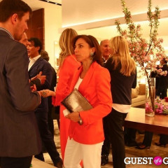 Ferragamo Flagship Re-Opening And Mr. & Mrs. Smith Launch Event