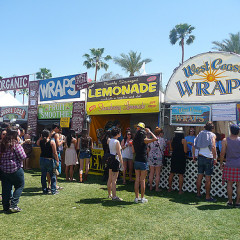 From Spicy Pie To Corn Dogs, The Gnarly Crap Of The Coachella 2012 Food Line Up