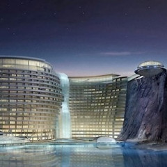 Luxury Hotel To Open In China... Underground