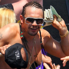 Eavesdropping In: Watch Cornrowed James Franco Lip Sync Selena Gomez; 300lb Bear In L.A. Backyard; Miss Universe Allows Transgenders Now; Madonna's Album Is A Historic Bomb; Lana Del Rey & Axl Rose Dating?