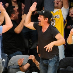 Brolin' Out: Lakers Game Celebrity Bromance Returns With Jack Black, Ashton Kutcher & Surprise MVP Josh Brolin