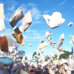 International Pillow Fight Day This Saturday In Washington Square Park