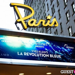 "January Jones Hosts Yves Klein Screening Of ""La Revolution Bleue"""