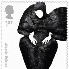 New Stamps Honor England's Influential Fashion Houses