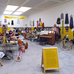 Get Rid Of Old Junk At MoMA's Meta-Monumental Garage Sale