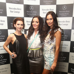 Front Row Style At Mercedes-Benz Fashion Week Australia Spring/Summer 2012/13