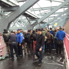 Photo Of The Day: Protestors At May Day Rally Arrested