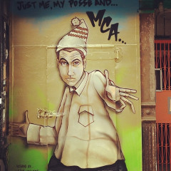 Photo Of The Day: New Adam 'MCA' Yauch Mural Up In East Village