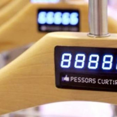 Trendy Hangers At C&A Stores Display Facebook 'Likes'