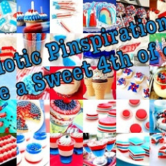 Patriotic Pinspiration: Have A Sweet July 4th!