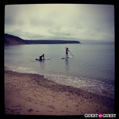 Summer Photo Of The Day: Paddle Boarding At Navy Beach