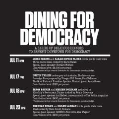 Dinner Table Diplomacy Never Tasted So Good