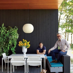 Eavesdropping In: Check Out Jonathan Adler And Simon Doonan's Stylish Home, And Have Your Dog Socialize In Southampton