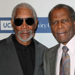 Last Night's Parties: Sidney Poitier, Morgan Freeman & Natalie Cole At The 2012 Icon Awards & More