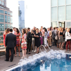 Last Night's Parties: The WSJ's Summer Pool Party, And Persol Magnificent Obsessions Opening