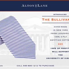 Alton Lane Announces 'Sullivan Tie' To Support UVA President's Fund