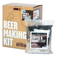 Have Beer For Breakfast With Coffee And Donut Beer Making Kit