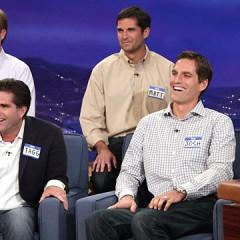 Romney Sons On Conan O'Brien