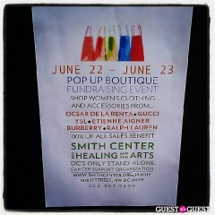 Pop Up Boutique Benefiting the Smith Center