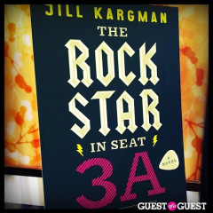 Jill Kargman Book Signing At Ginger: The Rock Star In Seat 3A