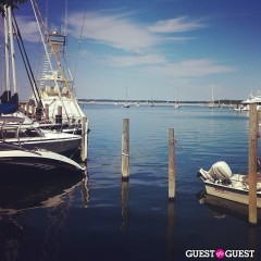 Summer Photo Of The Day: Sag Harbor's Marina Is A Heavenly Vision In Blue