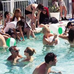 GUESS Throws Another High/Tide Pool Party With Mark Foster At The Standard