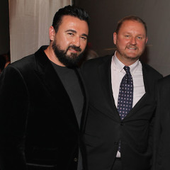 Celebrities Attend amfAR Gala, Kiehl's Liferide